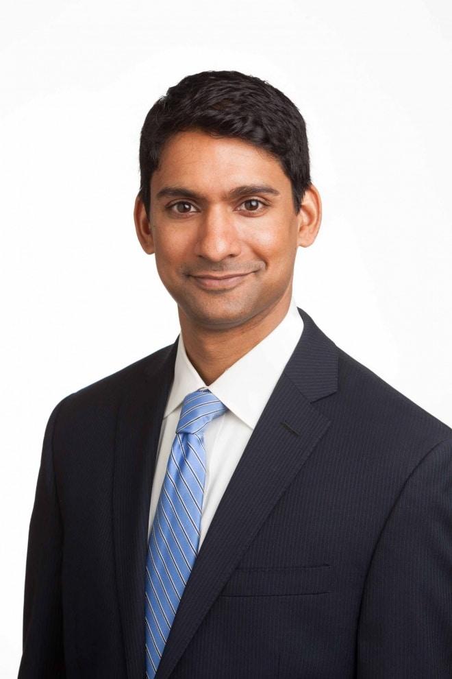 Headshot of Santosh Aravind for SDM.