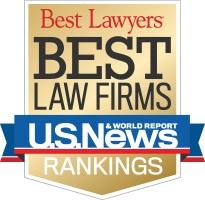 US News Best Law Firms logo.
